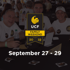 Family Weekend FAQs • First Year Experience • UCF